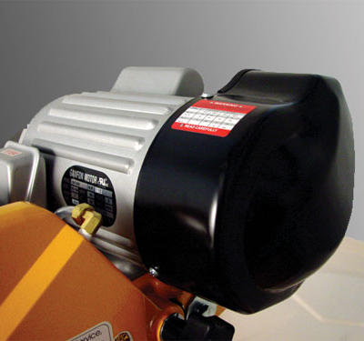 The SDT-1000XT is equipped with a powerful 1-1/2 HP induction motor that delivers tremendous torque for easy smooth cuts.