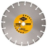 Cured Concrete Wet Cutting Blades For Walk Behind Saw Premium