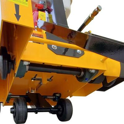 HEAVY DUTY LOW MAINTENANCE BEARINGS SUPPORT THE BLADE SHAFT AND SUBFRAME PROVIDING RELIABLE UNINTERRUPTED OPERATION OF THE SAW.