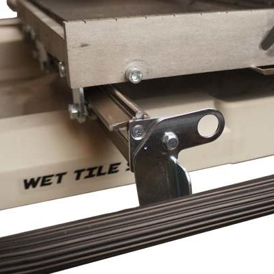 Accurate durable hybrid rail system composed of a high strength stainless steel rod mounted to an anodized aluminum extrusion.